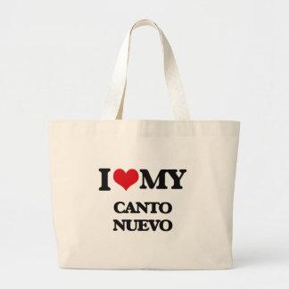 I Love My CANTO NUEVO Tote Bag