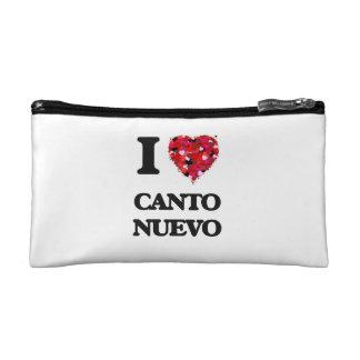 I Love My CANTO NUEVO Cosmetics Bags