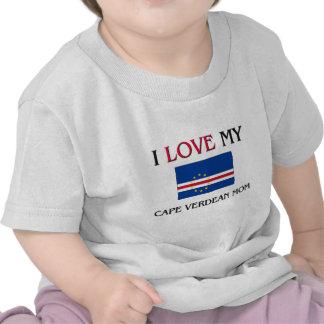 I Love My Cape Verdean Mom Tshirt