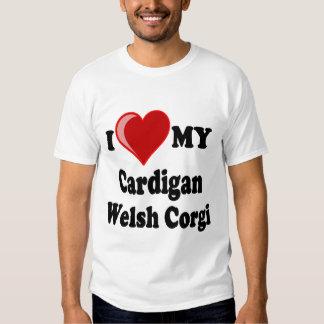 I Love My Cardigan Welsh Corgi Dog Lover Gifts Shirts