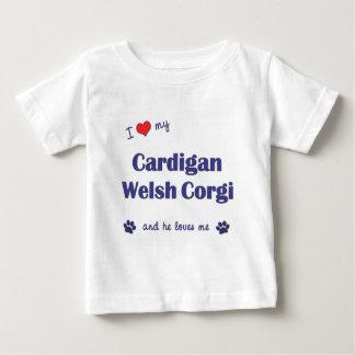 I Love My Cardigan Welsh Corgi (Male Dog) Baby T-Shirt