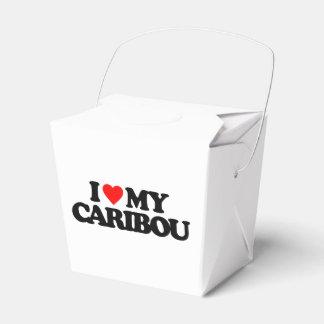 I LOVE MY CARIBOU FAVOUR BOX