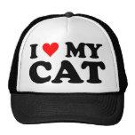 I Love My Cat Hats