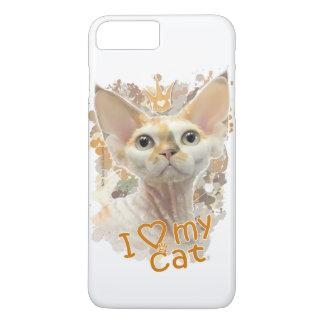 I love my cat iPhone 7 plus case