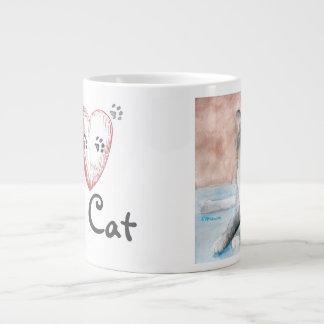 I love My Cat Jumbo Mug