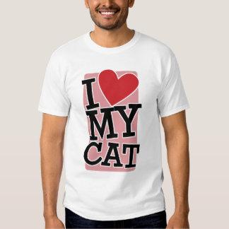 I Love My Cat Shirts