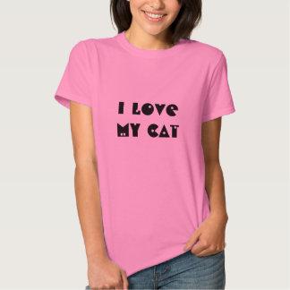 I Love My Cat t-shirt