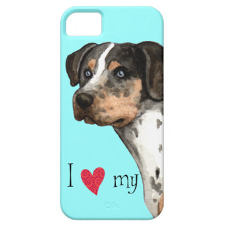 I Love my Catahoula iPhone 5 Cases