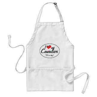 I Love My Cavalier It s a Dog Aprons