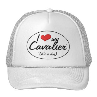 I Love My Cavalier It s a Dog Trucker Hat
