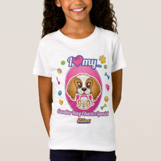 I Love My Cavalier King Charles Spaniel Apparel T-Shirt