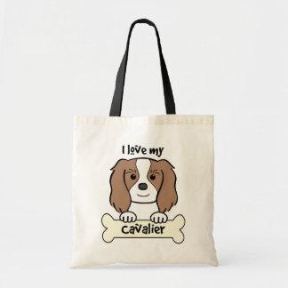 I Love My Cavalier King Charles Spaniel Bag