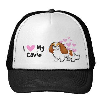 I Love My Cavalier King Charles Spaniel Cap