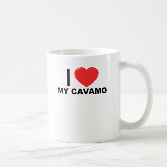 i love my cavamo tee shirts.png coffee mug
