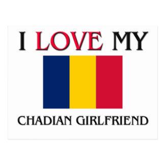 I Love My Chadian Girlfriend Post Card