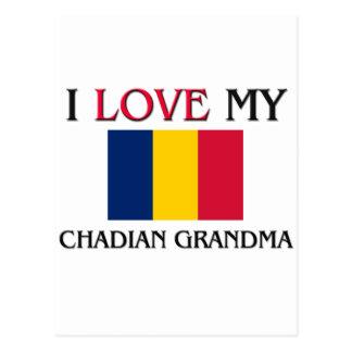 I Love My Chadian Grandma Post Card