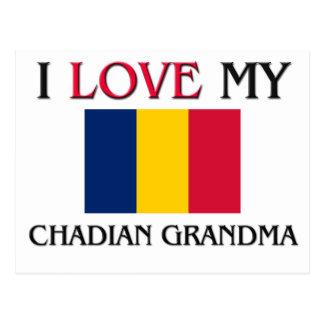 I Love My Chadian Grandma Postcard