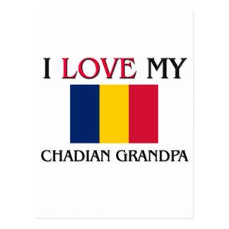 I Love My Chadian Grandpa Post Cards