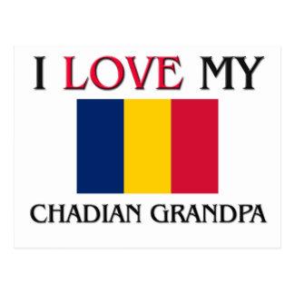 I Love My Chadian Grandpa Postcards