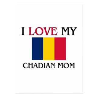 I Love My Chadian Mom Postcard