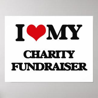 I love my Charity Fundraiser Print