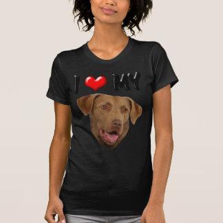 I Love My Chesapeake Bay Retriever Tee Shirt