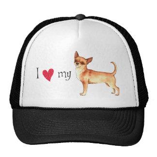 I Love my Chihuahua Cap