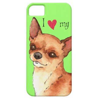 I Love my Chihuahua iPhone 5 Cases