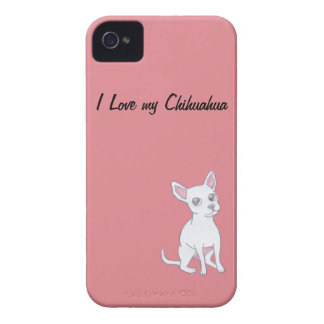 I Love my Chihuahua Case-Mate iPhone 4 Cases