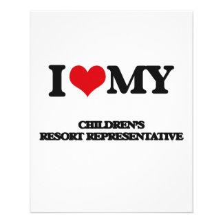 I love my Children's Resort Representative Flyer Design