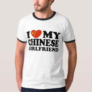 I Love My Chinese Girlfriend T-Shirt
