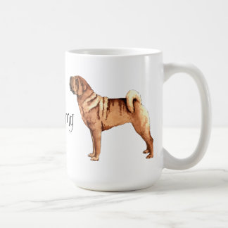 I Love my Chinese Shar-Pei Coffee Mug