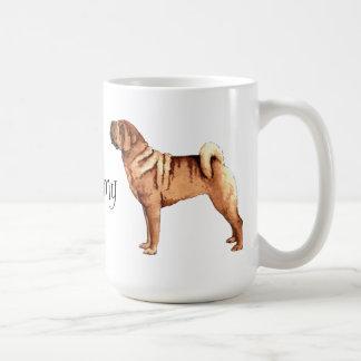 I Love my Chinese Shar-Pei Coffee Mugs