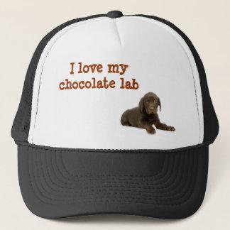 I love my chocolate lab hat