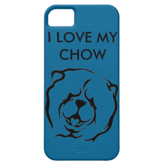 I LOVE MY CHOW IPHONE CASE