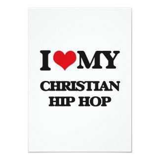 I Love My CHRISTIAN HIP HOP Announcements