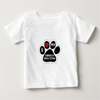 I love my Cirneco Dell Etna T-shirts