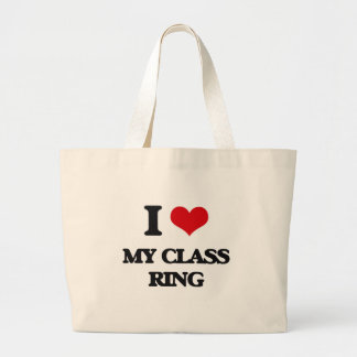 I love My Class Ring Tote Bag