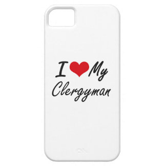 I love my Clergyman iPhone 5 Covers
