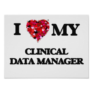 I love my Clinical Data Manager Poster