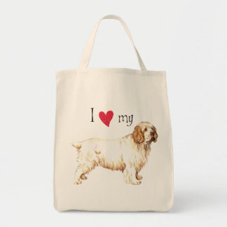 I Love my Clumber Spaniel