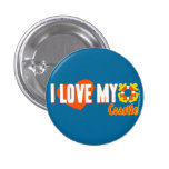 I Love My Coastie! Button