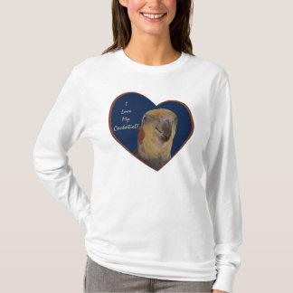 I Love My Cockatiel! Heart T-Shirt