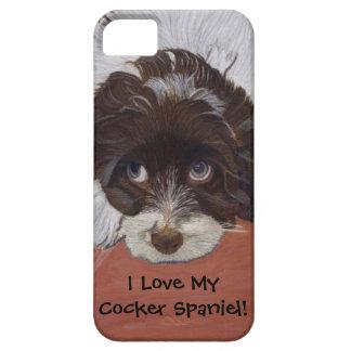 I Love My Cocker Spaniel iPhone 5 Case