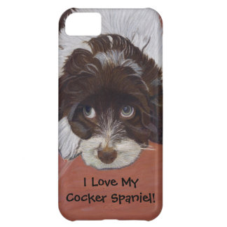 I Love My Cocker Spaniel iPhone 5 Case