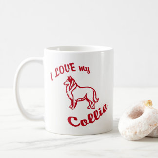 I Love my Collie 11oz Mug