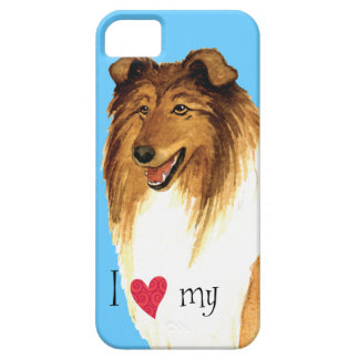 I Love my Collie iPhone 5 Cases