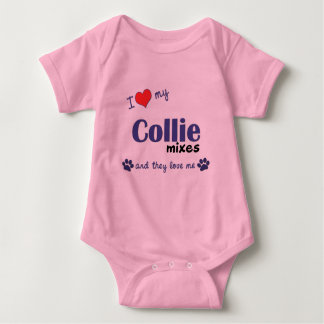 I Love My Collie Mixes (Multiple Dogs) Tee Shirt