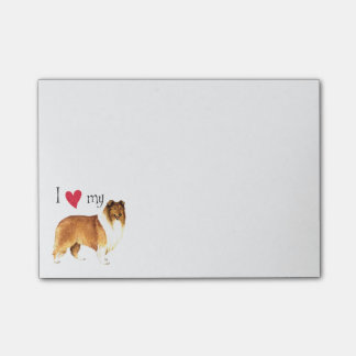 I Love my Collie Post-it® Notes