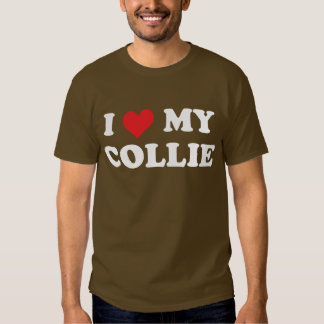 I Love My Collie Shirts